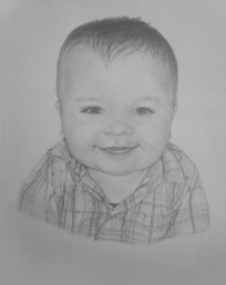 Alex (This was drawn from a photo of my nephew).