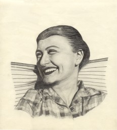 An actress (This was drawn from a movie book).
